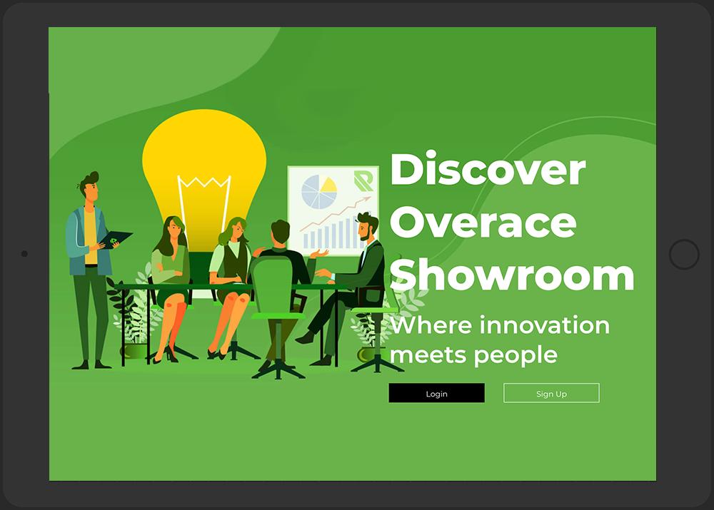 Overace-showroom-login